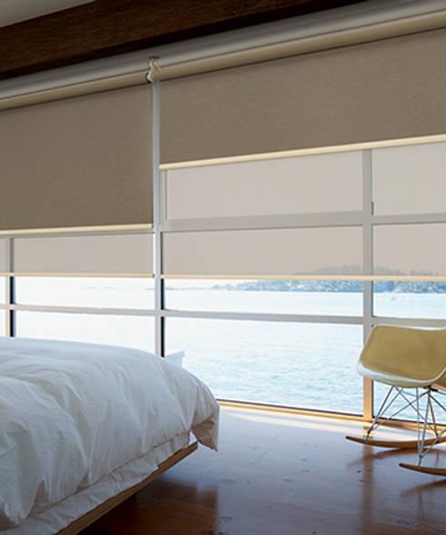 Estores dobles: Puertas y ventanas de estilo moderno de Estoresbaratos.com