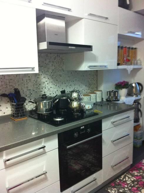Hilal Tasarım Mobilya – Mutfak:  tarz Mutfak