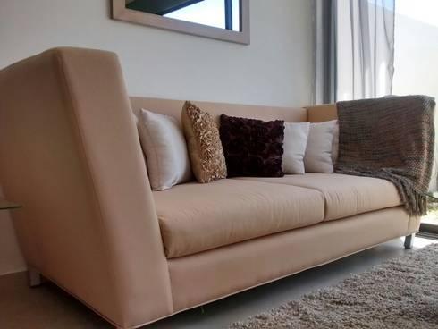 Sala - Lennor: Salas de estilo moderno por Bianco  Diseño