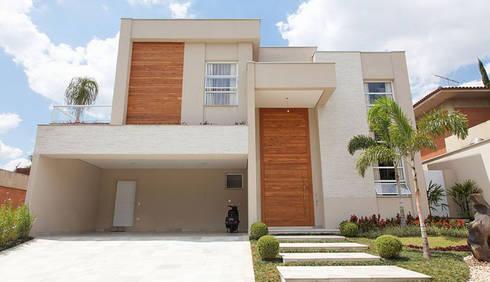 Retrofit - Residência Alphaville: Casas modernas por Moran e Anders Arquitetura