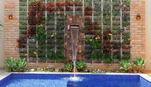 Retrofit - Residência Alphaville: Jardins modernos por Moran e Anders Arquitetura