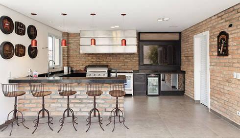 Retrofit - Residência Alphaville: Cozinhas modernas por Moran e Anders Arquitetura