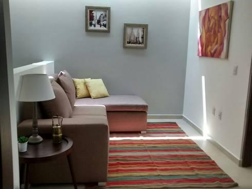 Sala Estar: Salas de estilo moderno por Bianco  Diseño