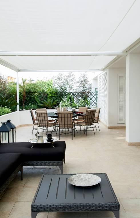 Casa em Open Space: Jardim  por Pureza Magalhães, Arquitectura e Design de Interiores