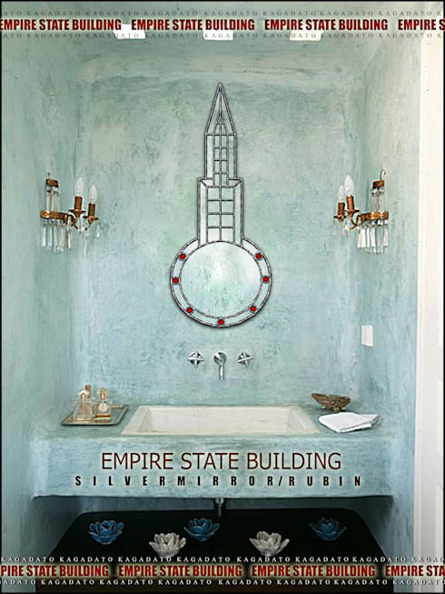 industrial Bathroom by KAGADATO