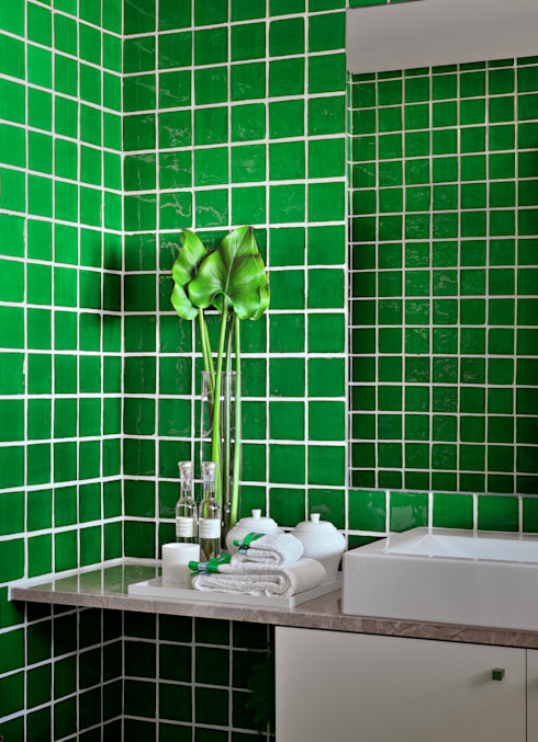 Baños de estilo moderno por Prego Sem Estopa by Ana Cordeiro