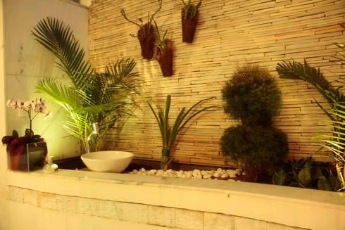 Casa Liberdade: Jardins de inverno clássicos por Na Lupa Design