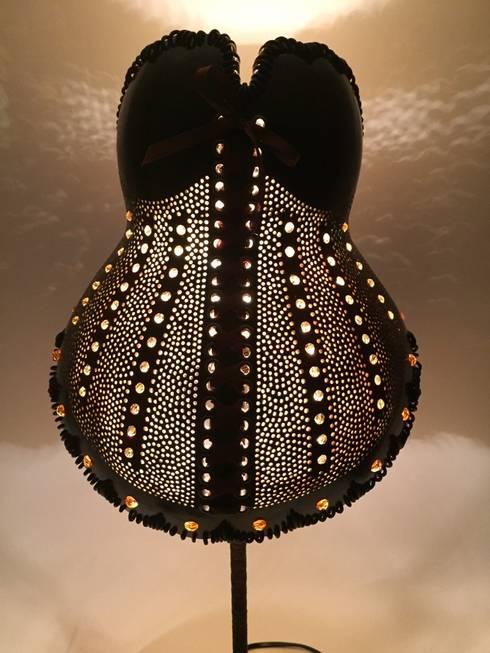 k rbislampe korsett iii mit swarovski kristallen von. Black Bedroom Furniture Sets. Home Design Ideas