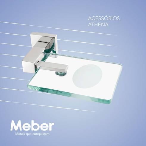 Acessórios: Banheiro  por Meber Metais