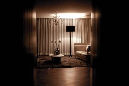 Av. México-Condesa: Salas de estilo moderno por Elías Arquitectura