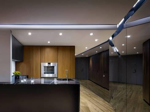 Uppern West Side Apartment-Manhatthan NYC: Cocinas de estilo moderno por Elías Arquitectura