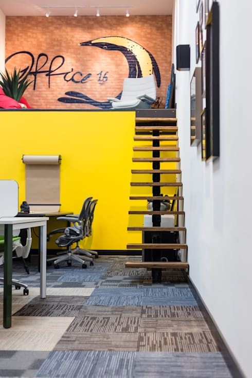Office 16: Espaços comerciais  por ArchDesign STUDIO