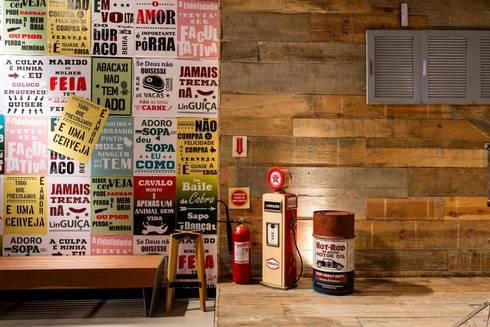PUB CCH - CasaCor 2015: Bares e clubes  por ArchDesign STUDIO