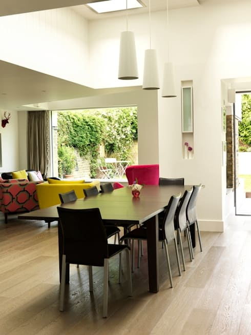 Gowan Avenue:  Dining room by Simon Gill Architects