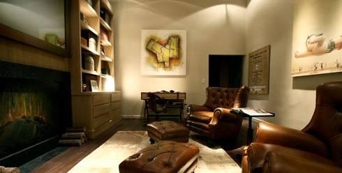 espacios con arte: Livings de estilo clásico por Daniel Vidal