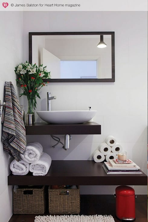 Bathroom by Heart Home magazine