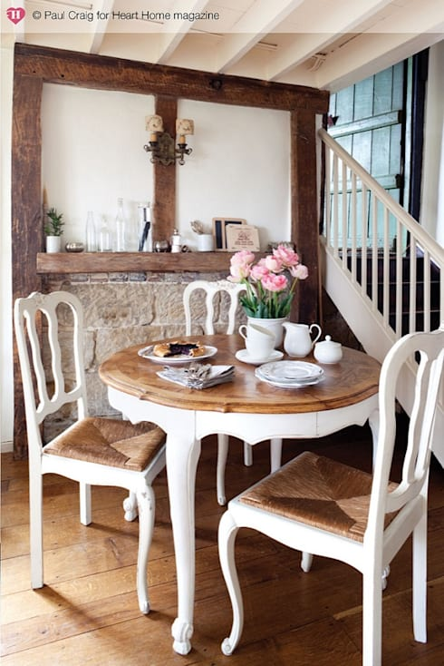 country Dining room by Heart Home magazine