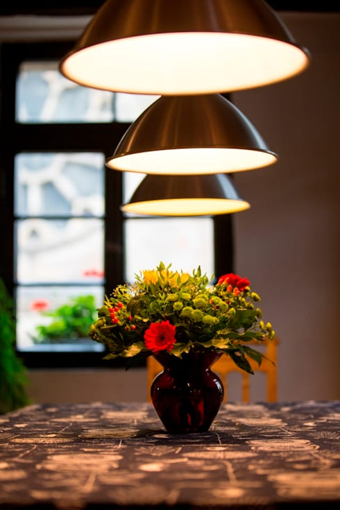 Tischdeko: landhausstil Esszimmer von Immotionelles
