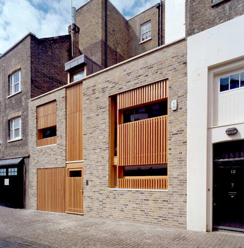 Park Square Mews:  Houses by Belsize Architects