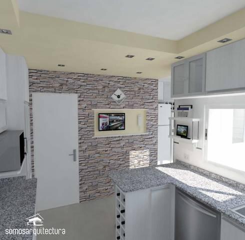 Proyecto de reforma en cocina lavadero de somos for Lavadero cocina