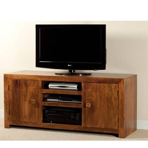 Arredare in stile etnico di ethnic chic homify - Mobile porta tv in legno ...