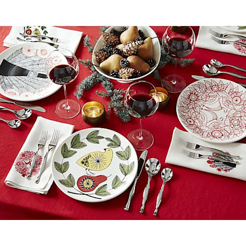 Carly dodsley ceramics plates homify for Crate and barrel peru
