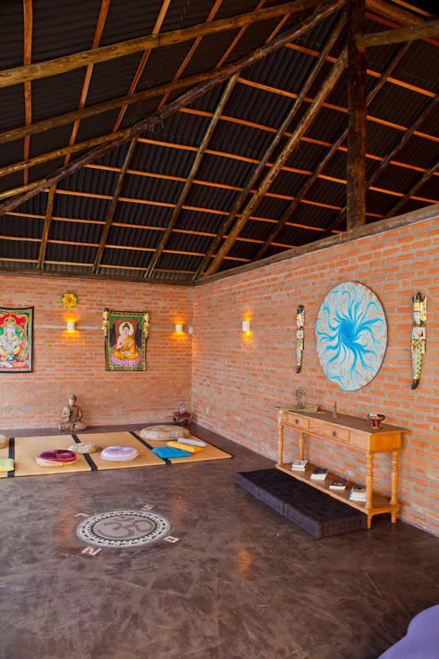 Spa de estilo  por Cactus Arquitetura e Urbanismo