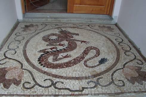 Pisos em mosaico mandalas em mosaico para pisos e for Mosaicos para pisos precios