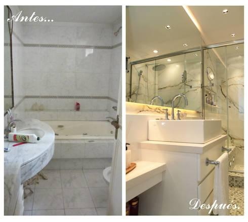 Suite:  de estilo  por Indinaco srl Construcciones y servicios