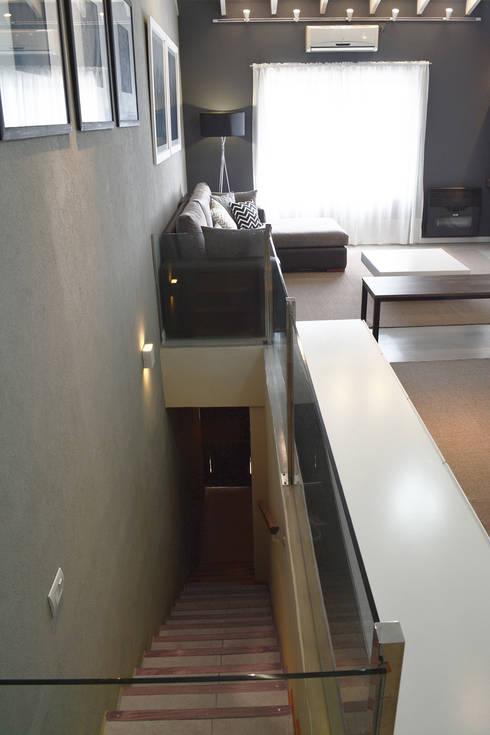 Remodelacion PH / Pent House: Livings de estilo  por Estudio Nicolas Pierry