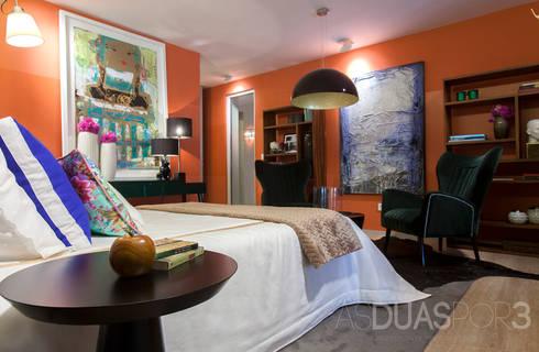 Suite: Quartos modernos por ÀS DUAS POR TRÊS