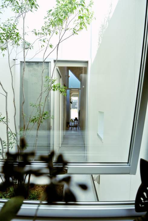 シキナミカズヤ建築研究所의  정원