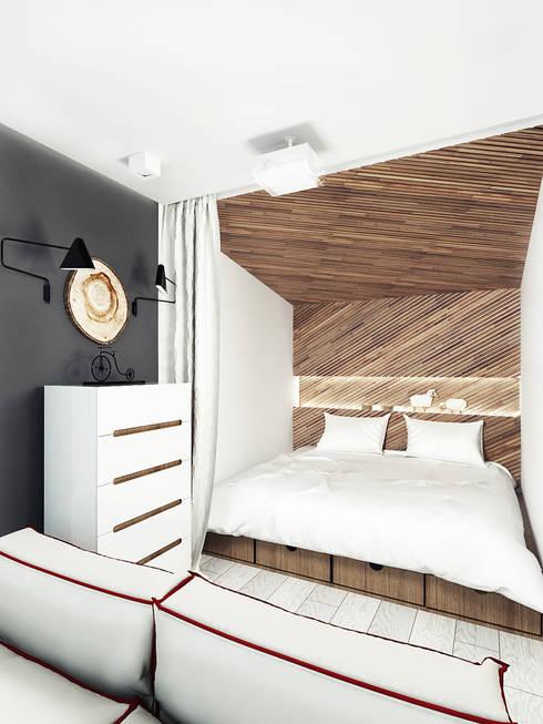 Schlafzimmer von IK-architects