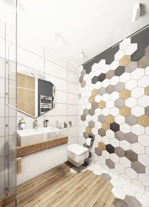 Badezimmer von IK-architects