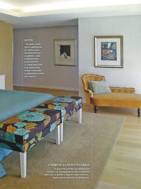 quarto . suite: Quarto  por Joana Conceição - Architecture and Interior design