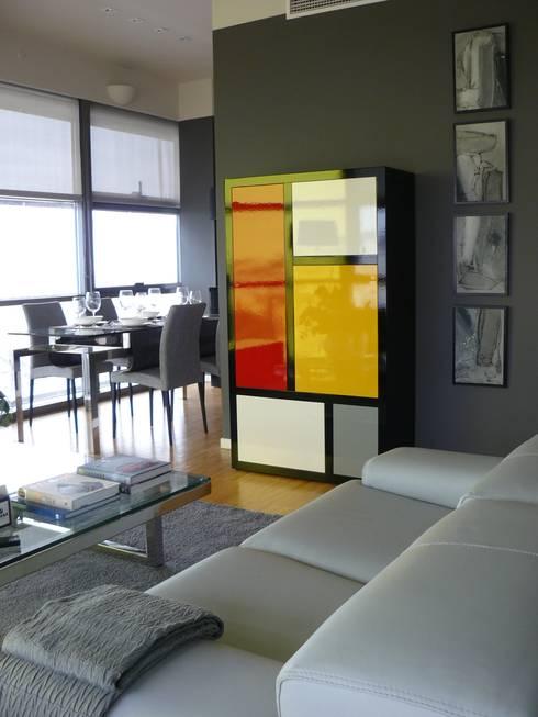 moderne Wohnzimmer von Terre