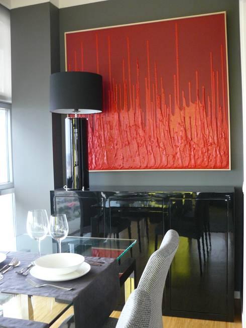 Salas de jantar modernas por Terre