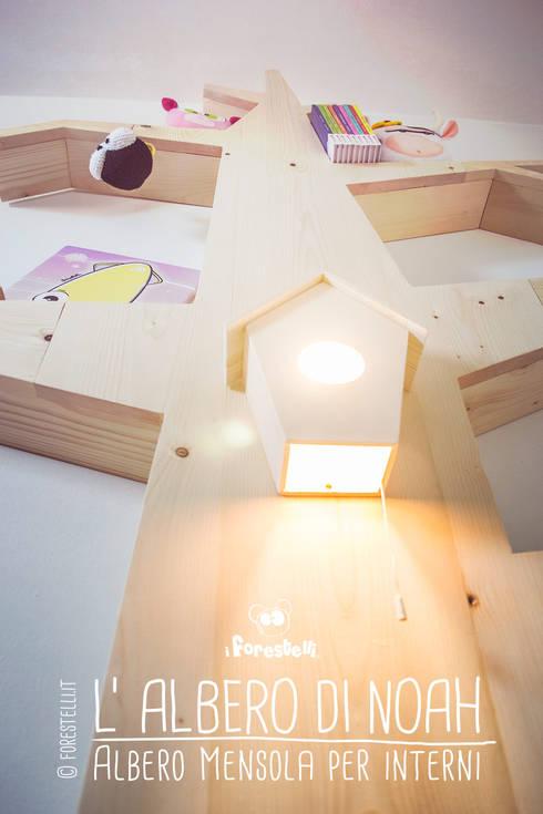 Habitaciones infantiles de estilo  de I Forestelli