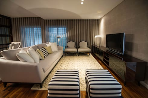 Habitação JM: Casas modernas por Alberto Sousa Interiores