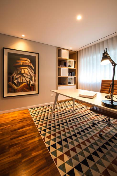 Habitação JM: Casas  por Alberto Sousa Interiores