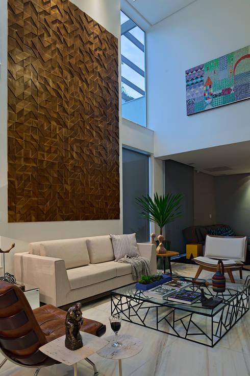 modern Living room by Lucas Lage Arquitetura