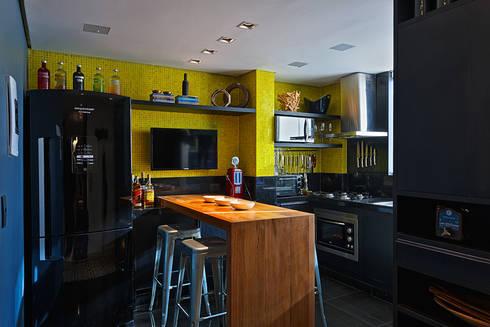 AP 401: Cozinhas modernas por Lucas Lage Arquitetura