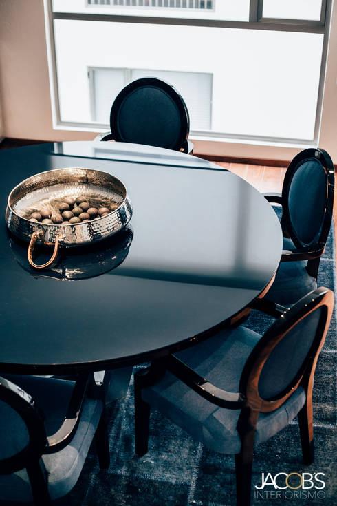 Comedor: Comedor de estilo  por Jacobs Interiorismo