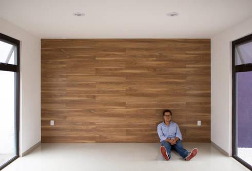 FONDO DE MADERA: Salas de estilo minimalista por Región 4 Arquitectura