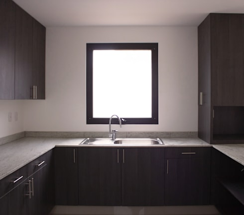 COCINA: Cocinas de estilo minimalista por Región 4 Arquitectura