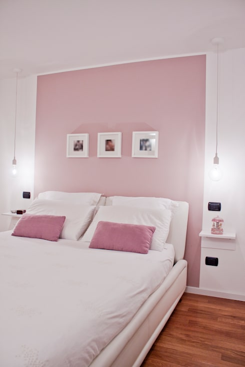 moderne Schlafzimmer von Laura Lucente Architetto