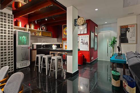 PUB BOLA: Cozinhas modernas por Lucas Lage Arquitetura