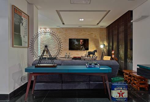 PUB BOLA: Salas de estar modernas por Lucas Lage Arquitetura