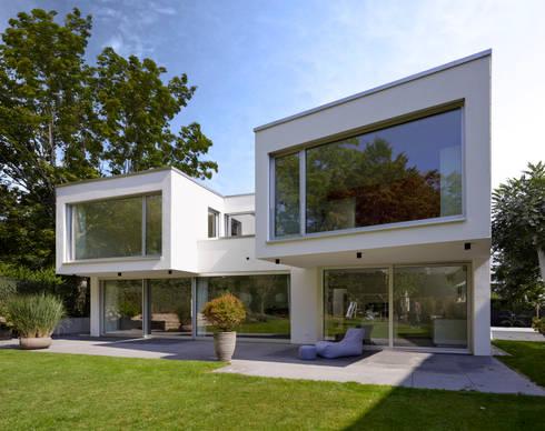 Architekt Mainz wohnhaus c mainz oberstadt by hofbauer architekt homify