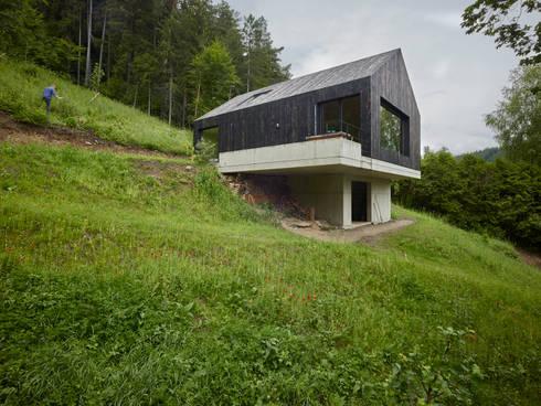 haus am thurnberger stausee von backraum architektur homify. Black Bedroom Furniture Sets. Home Design Ideas